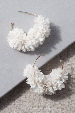 Swann Earrings In Ivory - Size: One Size - at BHLDN