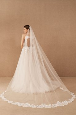 BHLDN's Hayley Paige Hayley Paige Cory Veil in Ivory