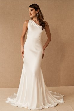 BHLDN's Nouvelle Amsale Nouvelle Amsale Pearce Gown in Ivory