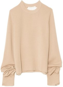 Too Cashmere Sweater in Latte