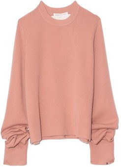 Too Cashmere Sweater in Petal