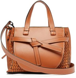 Gate woven-leather tote bag