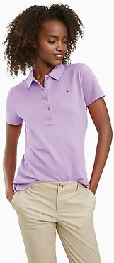 Regular Fit Essential Stretch Cotton Polo Lavendula - XS