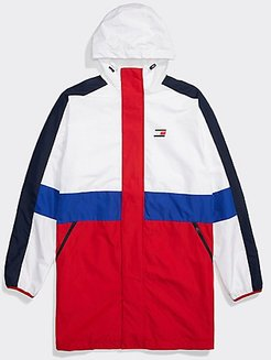 Adaptive Hooded Icon Jacket Apple Red / Bright White - L