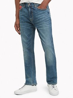 Relaxed Fit Vintage Wash Jean Medium Wash - 30/32
