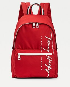 Recycled Logo Backpack Primary Red -