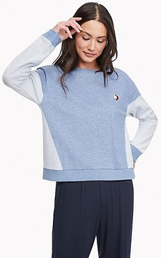 Heart Lounge Pullover Chambray - XL