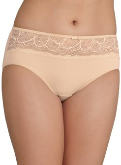 Lace Desire Microfiber Hipster