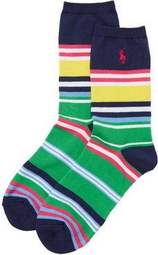 Bold Run On Stripe Trouser Socks