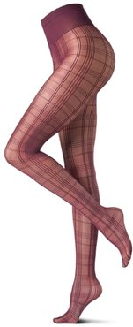 Square Plaid Tights