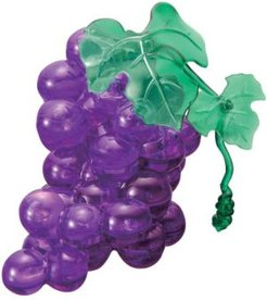 3D Crystal Puzzle - Grapes