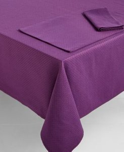 "Maya Mulberry 60"" x 84"" Tablecloth"