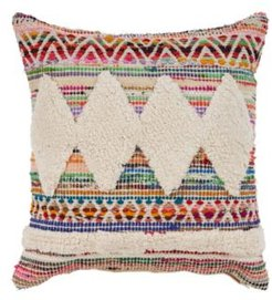 Diamond Chevron Throw Pillow