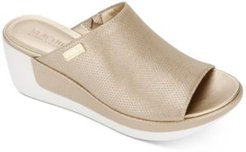 Pepea Slide Wedge Sandals Women's Shoes