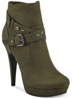 Deeka Platform Dress Booties Women's Shoes