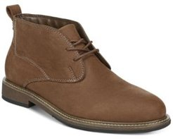 Clutch Chukka Leather Boots Men's Shoes