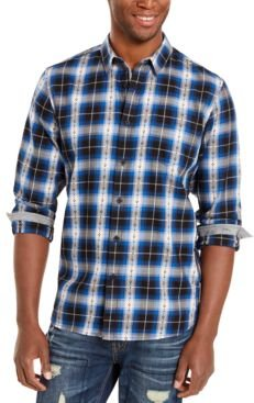 Plaid Plus Flannel Shirt, Created For Macy's