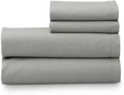 The Welhome Super Soft Washed Cotton Breathable Full Sheet Set Bedding
