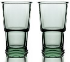 Ring Wine Highball Glasses - Set of 2