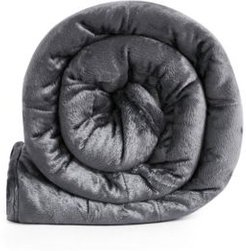 Mink Reversible Weighted Travel Throw