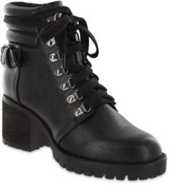 Broderick Vegan Leather Lug Sole Boots Women's Shoes