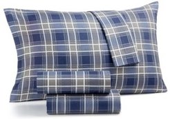 Printed Microfiber Full 4-Pc Sheet Set, Created for Macy's Bedding