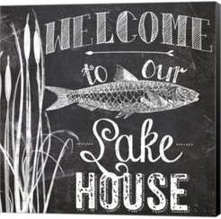 Lake House I by Color Bakery Canvas Art