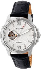 Automatic Bonavento Silver Leather Watches 44mm