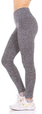 Perforated Side Pockets High-Rise Leggings