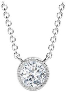 Tribute Collection Diamond (1/2 ct. t.w.) Necklace in 18k Yellow, White and Rose Gold