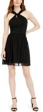Panthea Halter Dress