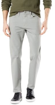 Ultimate Slim-Straight Fit Smart 360 Flex Stretch Jean-Cut Pants, Created for Macy's