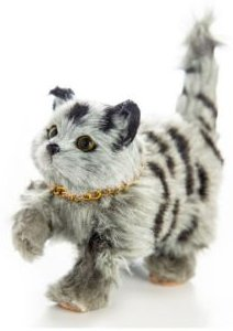 Truly Adorable Realistic Kitty Cat Doll with Pet Accessory