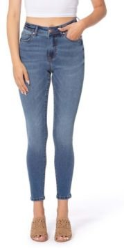 High Rise Skinny Ankle Denim