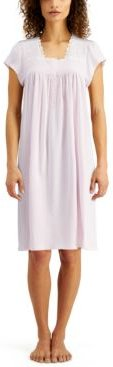 Smocked Knit Nightgown