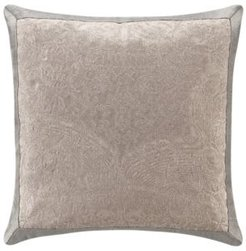 """Andria 16"""" L X 16"""" W Embroidered Pillow Bedding"""