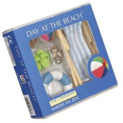 Mini Day At The Beach Imaginary Toy Playset