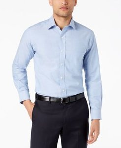 Slim-Fit Pinpoint Solid Dress Shirt, Created for Macy's