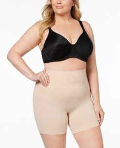 Plus Size Everyday Shaping Panties Mid-Thigh Short 10149P