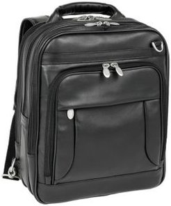 """Lincoln Park, 15"""" Three-Way Backpack Laptop Briefcase"""