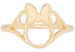 Children's Minnie Mouse Ring in 14k Gold