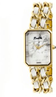 Quartz Eleanor Collection Gold And White Stainless Steel Watch 26Mm