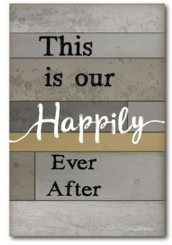 Happily Ever After Gallery-Wrapped Canvas Wall Art -