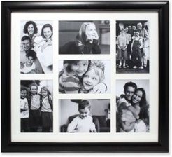 """Black Collage Frame - Seven Opening Gallery Frame - 4"""" x 6"""""""