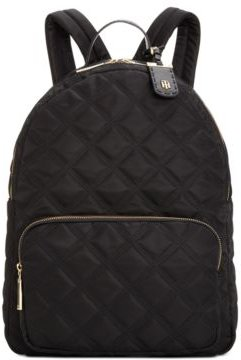 Julia Triple Quilted Nylon Dome Backpack