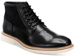 Rynier Leather Lace-Up Boots, Created for Macy's Men's Shoes