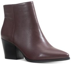 Eryn Leather Booties, Created for Macy's Women's Shoes