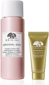 Get a Free Original Skin Essence Lotion & Plantscription Lifting Mask with any $65 Origins Purchase