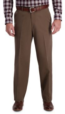 W2W Pro Relaxed-Fit Flat Front Casual Pants