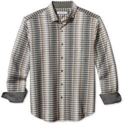 Surf Springs Stripe Classic-Fit Stretch Check Shirt